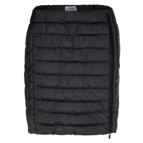 Loap IRFINA čierna - Dámska športová sukňa