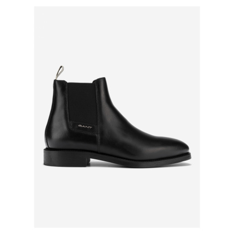 James Kotníková obuv Gant Čierna