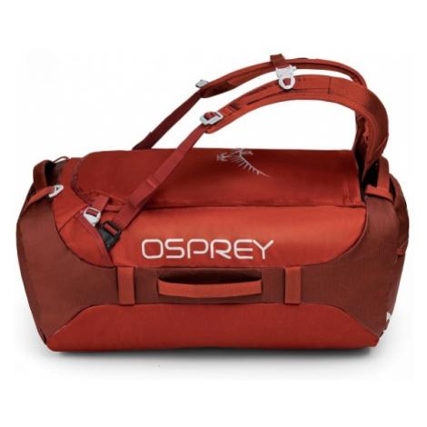 Osprey TRANSPORTER 65 II červená - Cestovná taška