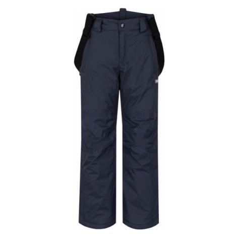 Loap FIDOR tmavo sivá - Detské zimné nohavice