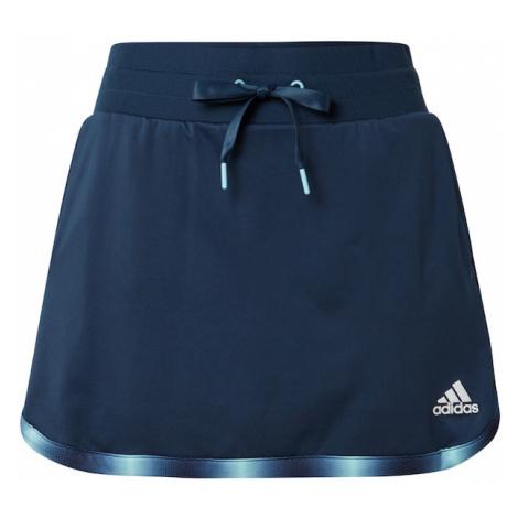 adidas Golf Športová sukňa  námornícka modrá / biela / svetlomodrá