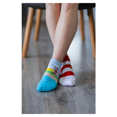 Barefoot ponožky krátke - Maják 43-46