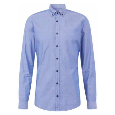 JOOP! Jeans Biznis košeľa 'Haven'  dymovo modrá
