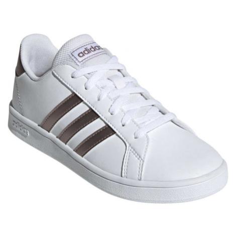 adidas GRAND COURT K biela - Detská obuv