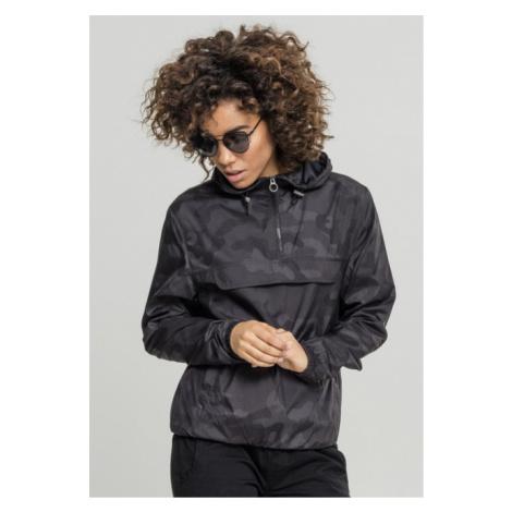 Urban Classics Ladies Camo Pullover darkcamo - Veľkosť:XS