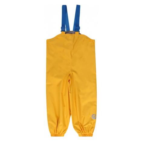 FINKID Nohavice na traky  žltá