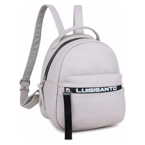 Dámsky ruksak svetlošedý
