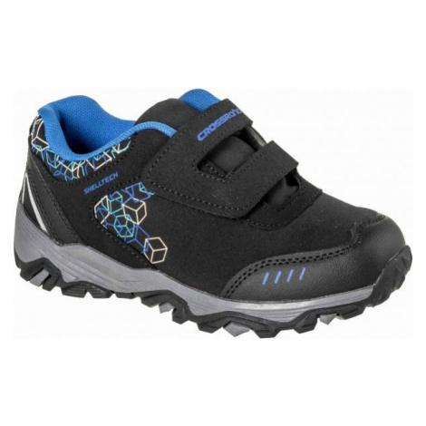 Modrá chlapčenské trekové a outdoorové topánky