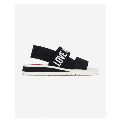 Love Moschino Sandále Čierna