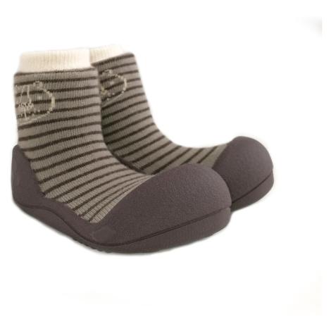ATTIPAS Topánočky detské Forest Brown