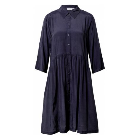 SAINT TROPEZ Košeľové šaty 'Elodie'  tmavomodrá
