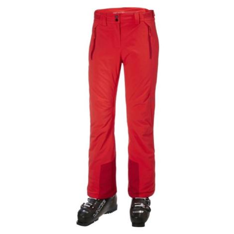 Helly Hansen ALPHELIA PANT W červená - Dámske lyžiarske nohavice