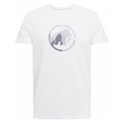 MAMMUT Funkčné tričko  prírodná biela / námornícka modrá / námornícka modrá