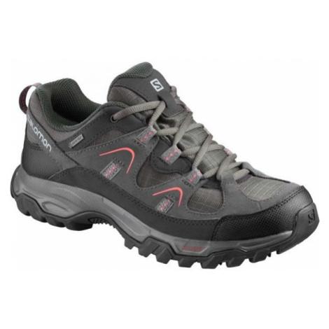 Salomon FORTALEZA GTX W šedá - Dámska hikingová obuv