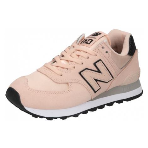 new balance Nízke tenisky '574'  ružová / antracitová / ružové zlato
