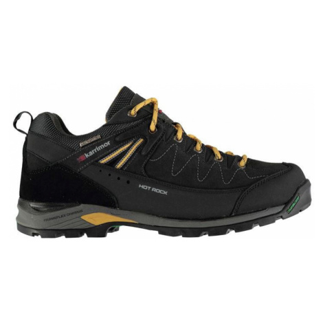 Karrimor Hot Rock Low pánske topánky Charcoal/Yellow