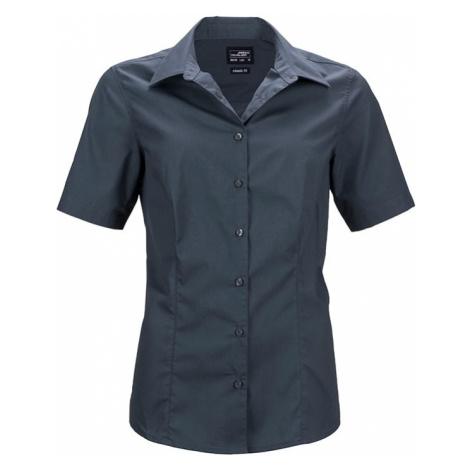 James & Nicholson Dámska košeľa s krátkym rukávom JN643