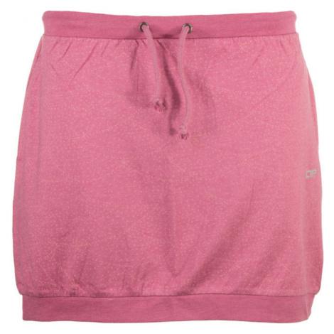 ALPINE PRO JAINA ružová - Dámska sukňa