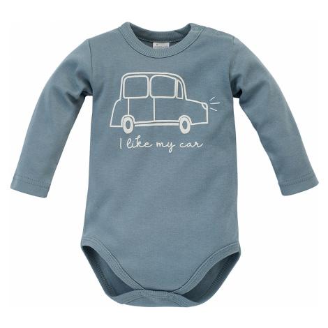 Pinokio Kids's Little Car Longsleeve Bodysuit