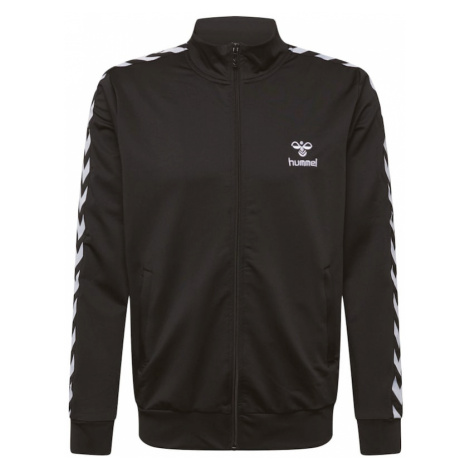 Hummel Športová bunda 'NATHAN 2.0'  čierna / biela