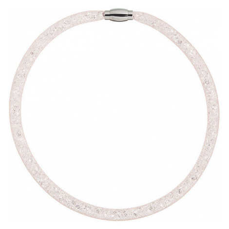 Preciosa Trblietavý náhrdelník Scarlette svetle broskyňový 49