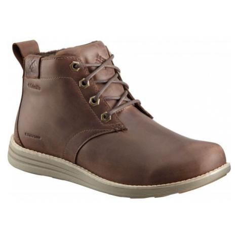 Columbia IRVINGTON II CHUKKA LTR WP hnedá - Pánska vychádzková obuv