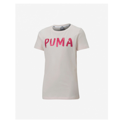 Puma Alpha Tričko detské Ružová