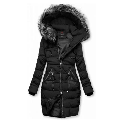Zimná prešívaná bunda čierna