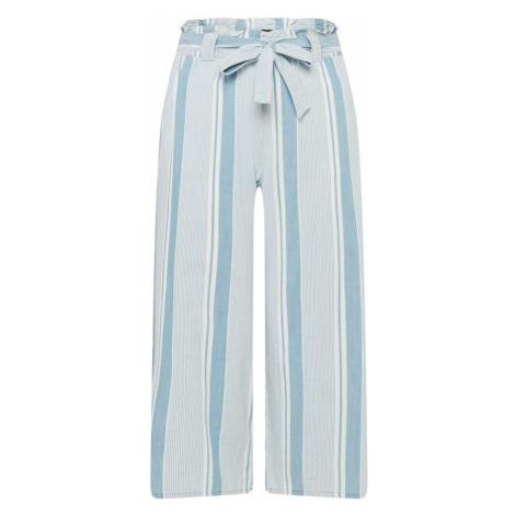 Vero Moda Curve Nohavice 'VMAKELA'  modrá / biela