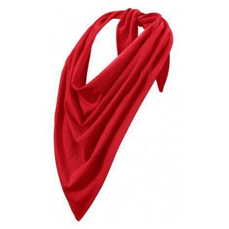 Trendová šatka, červená