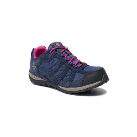 Columbia Trekingová obuv Youth Redmond Waterproof BY2857 Fialová