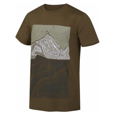 Husky Tash tm. olivová, Pánske tričko