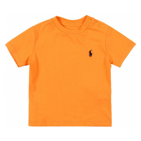 POLO RALPH LAUREN Tričko  oranžová / tmavomodrá