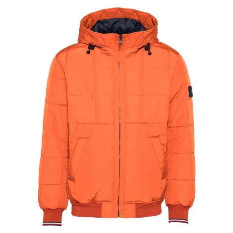 TOMMY HILFIGER Prechodná bunda  oranžová