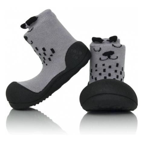 ATTIPAS Unisex topánočky Cutie, veľ. - šedá