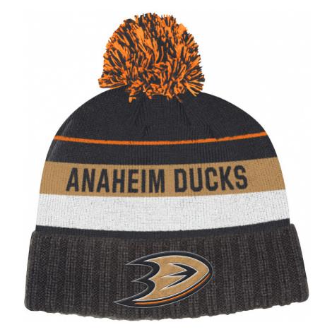 Zimná čiapka adidas Culture Cuffed Knit Pom NHL Anaheim Ducks