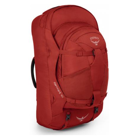 Osprey Farpoint 70 Jasper Red M L-One size červené OSP21060330.02.B99-One-size