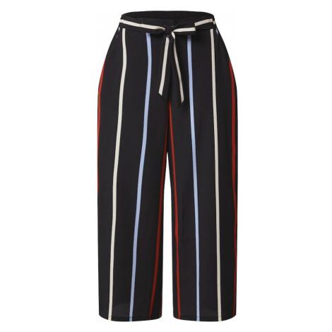 TOM TAILOR DENIM Nohavice  biela / modrá / čierna / červená