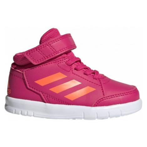 adidas ALTASPORT MID I ružová - Detská voľnočasová obuv