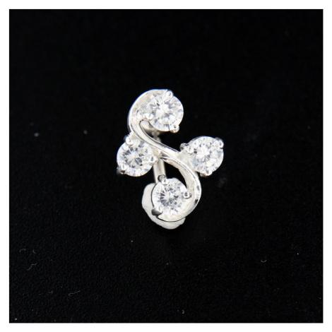 Strieborný piercing 14478