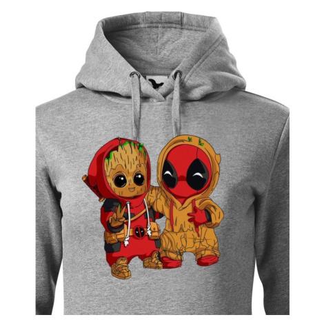 Dámska mikina Deadpool a Groot - super darček