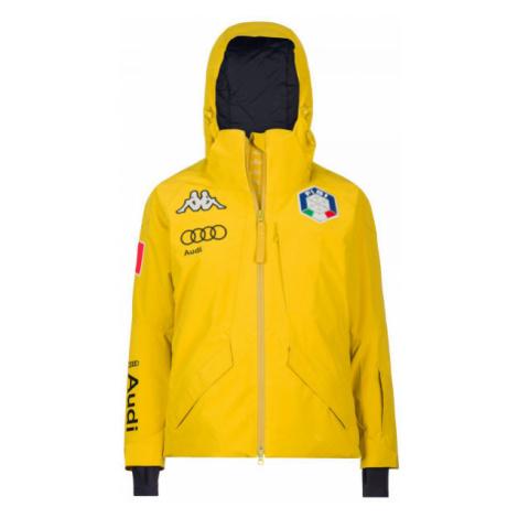 Kappa 6CENTO 611 FISI JACKET žltá - Pánska lyžiarska bunda