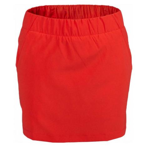 Columbia CHILL RIVER SKORT červená - Dámska šortková sukňa