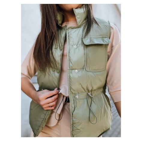 Women's vest LOPEZ green Dstreet TY2282