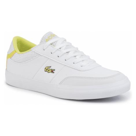 Sneakersy LACOSTE - Court-Master 120 2 Cuj 7-39CUJ0011V05 Wht/Ylw