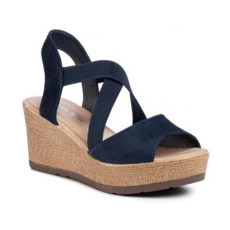 Sandále Clara Barson WS2220-01 Látka/-Materiál