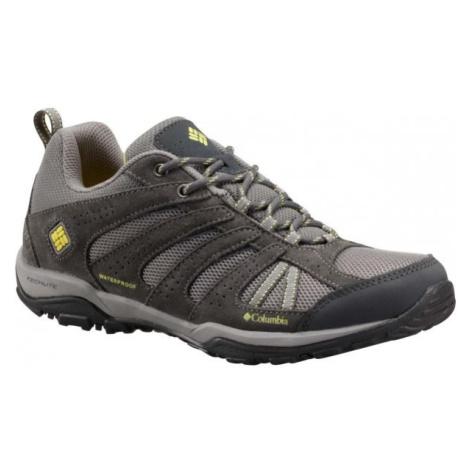 Columbia DAKOTA DRIFTER WP tmavo šedá - Dámska outdoorová obuv