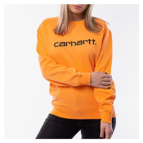 Carhartt WIP W' Sweatshirt I027475 POP ORANGE/BLACK