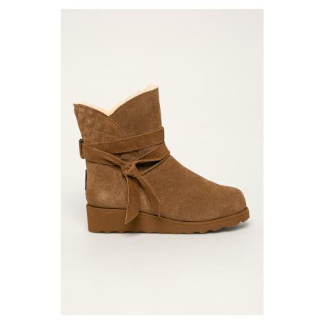 Bearpaw - Kožené členkové topánky Maxine