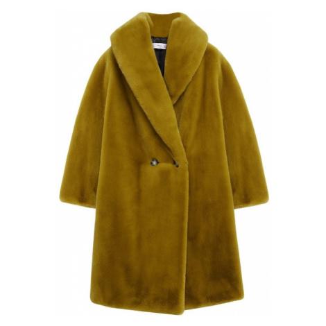 MANGO Prechodný kabát 'Chilly'  horčicová